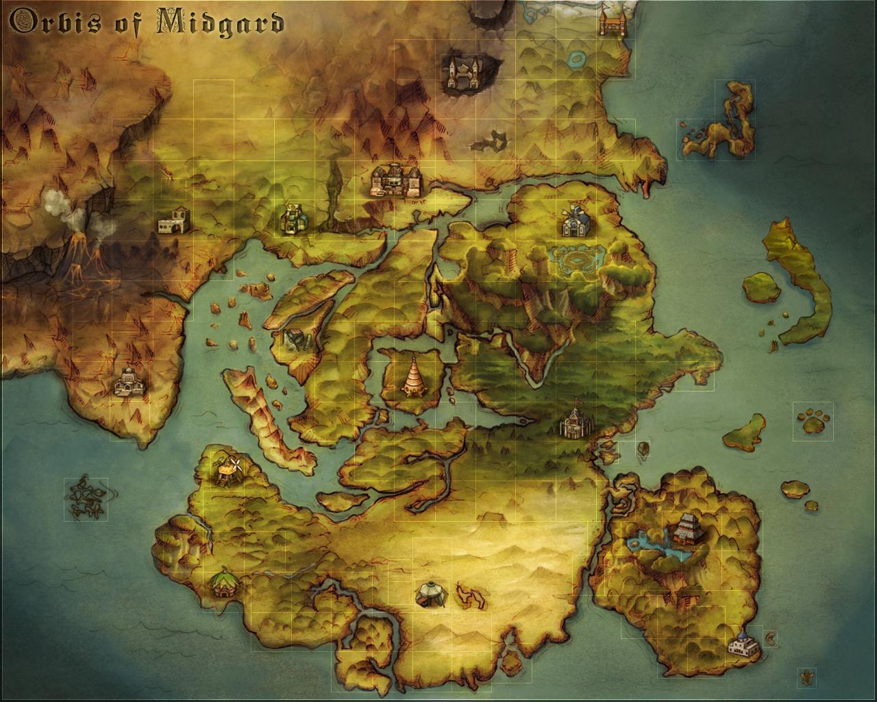 As Lamúrias de Glast Heim - Sangue & Glória - 4 Vagas Wold_map_real